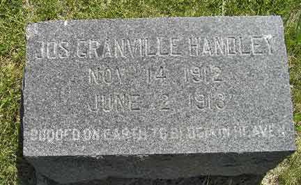 HANDLEY, JOSEPH GRANVILLE - Adair County, Iowa | JOSEPH GRANVILLE HANDLEY