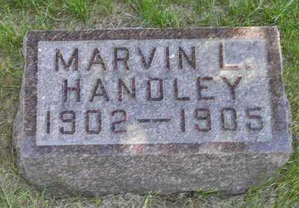 HANDLEY, MARVIN L. - Adair County, Iowa | MARVIN L. HANDLEY