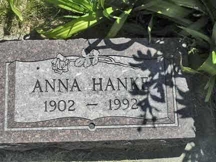 HANKE, ANNA - Adair County, Iowa | ANNA HANKE