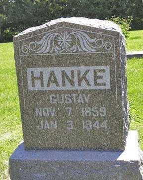 HANKE, GUSTAV - Adair County, Iowa | GUSTAV HANKE