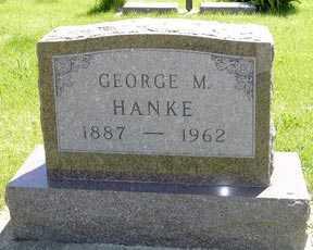 HANKE, GEORGE M. - Adair County, Iowa | GEORGE M. HANKE