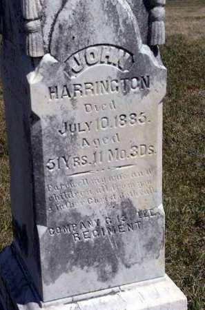 HARRINGTON, JOHN - Adair County, Iowa | JOHN HARRINGTON
