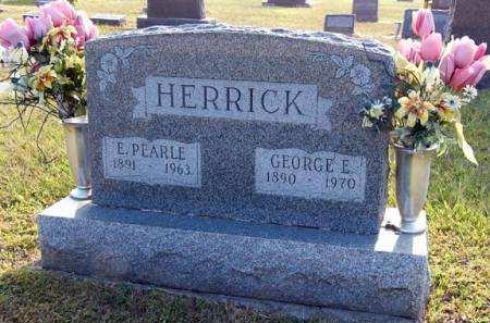 HERRICK, E. PEARLE - Adair County, Iowa   E. PEARLE HERRICK