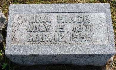 HINCK, ONA - Adair County, Iowa | ONA HINCK