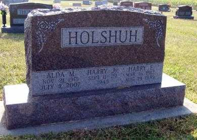 HOLSHUH, HARRY E. - Adair County, Iowa | HARRY E. HOLSHUH