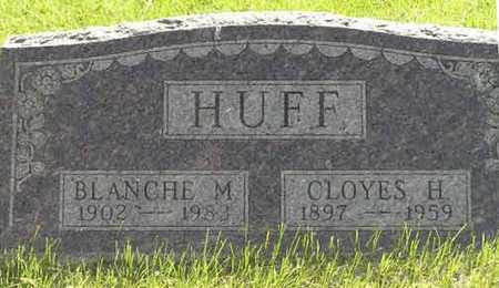 HUFF, BLANCH M. - Adair County, Iowa   BLANCH M. HUFF