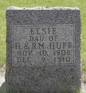 HUFF, ELSIE - Adair County, Iowa | ELSIE HUFF