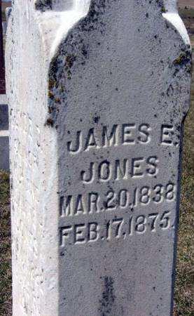JONES, JAMES E. - Adair County, Iowa | JAMES E. JONES
