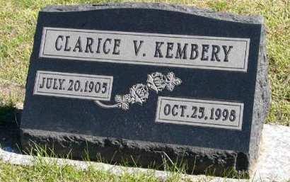 KEMBERY, CLARICE V. - Adair County, Iowa | CLARICE V. KEMBERY