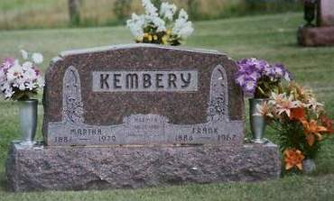 KEMBERY, MARTHA - Adair County, Iowa | MARTHA KEMBERY