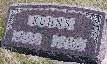 KUHNS, MYRA - Adair County, Iowa | MYRA KUHNS
