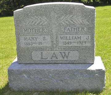 LAW, MARY E. - Adair County, Iowa | MARY E. LAW