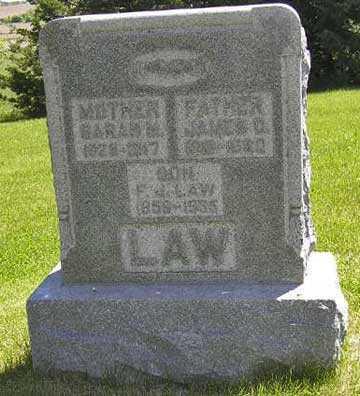 LAW, F. J. (SON) - Adair County, Iowa | F. J. (SON) LAW