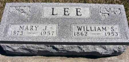 LEE, WILLIAM S. - Adair County, Iowa | WILLIAM S. LEE