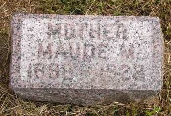 LENTS, MAUDE M. - Adair County, Iowa | MAUDE M. LENTS