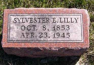 LILLY, SYLVESTER E. - Adair County, Iowa | SYLVESTER E. LILLY