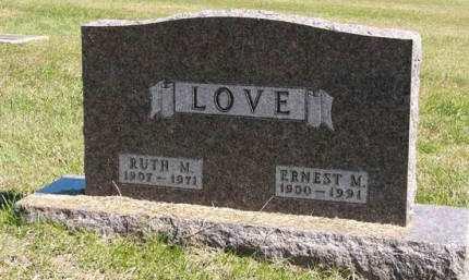 LOVE, ERNEST M. - Adair County, Iowa | ERNEST M. LOVE