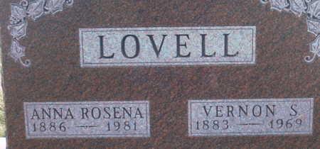 LOVELL, ANNA  ROSENA - Adair County, Iowa | ANNA  ROSENA LOVELL