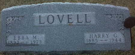 LOVELL, HARRY  G. - Adair County, Iowa | HARRY  G. LOVELL