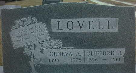 LOVELL, GENEVA  A. - Adair County, Iowa | GENEVA  A. LOVELL