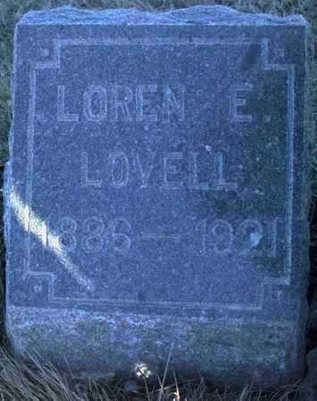 LOVELL, LOREN E. - Adair County, Iowa | LOREN E. LOVELL