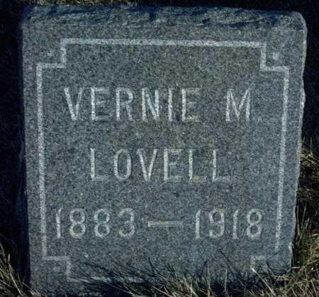 LOVELL, VERNIE M. - Adair County, Iowa | VERNIE M. LOVELL