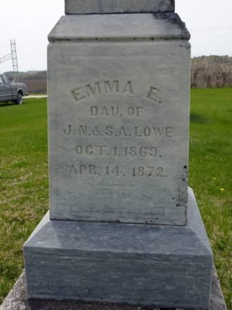 LOWE, EMMA E - Adair County, Iowa | EMMA E LOWE