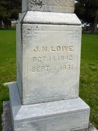 LOWE, J N - Adair County, Iowa   J N LOWE