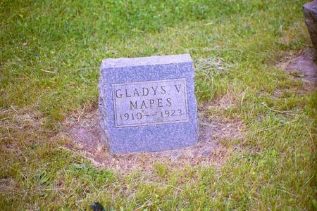 MAPES, GLADYS V. - Adair County, Iowa | GLADYS V. MAPES