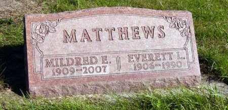 MATTHEWS, MILDRED E. - Adair County, Iowa | MILDRED E. MATTHEWS