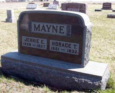 MAYNE, HORACE T. - Adair County, Iowa | HORACE T. MAYNE