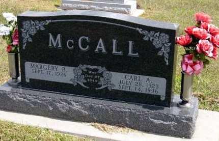 MCCALL, CARL A. - Adair County, Iowa   CARL A. MCCALL