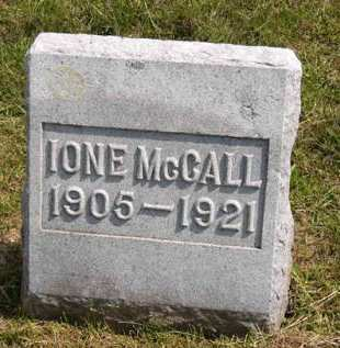 MCCALL, IONE - Adair County, Iowa | IONE MCCALL