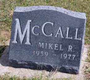 MCCALL, MIKEL R. - Adair County, Iowa | MIKEL R. MCCALL