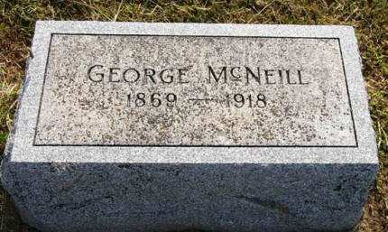MCNEILL, GEORGE - Adair County, Iowa | GEORGE MCNEILL