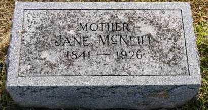 MCNEILL, JANE - Adair County, Iowa | JANE MCNEILL