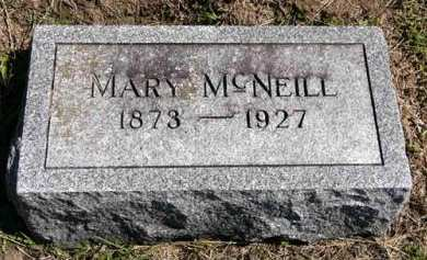 MCNEILL, MARY - Adair County, Iowa   MARY MCNEILL