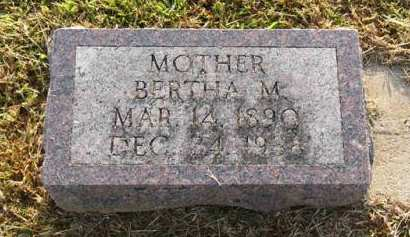 MICHAEL, BERTHA M. - Adair County, Iowa   BERTHA M. MICHAEL