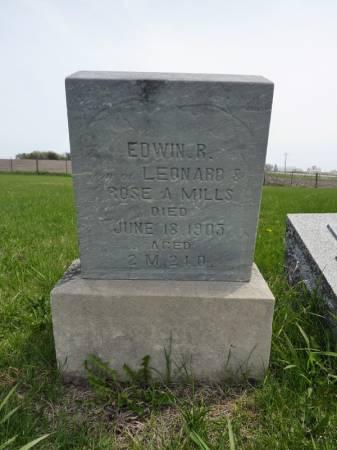 MILLS, EDWIN R - Adair County, Iowa | EDWIN R MILLS