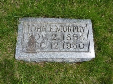 MURPHY, JOHN F - Adair County, Iowa | JOHN F MURPHY