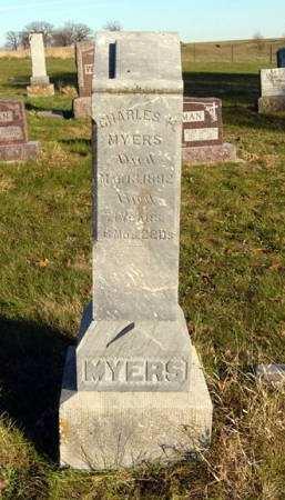 MYERS, CHARLES H. - Adair County, Iowa   CHARLES H. MYERS