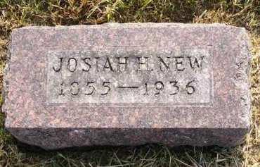NEW, JOSIAH H. - Adair County, Iowa | JOSIAH H. NEW