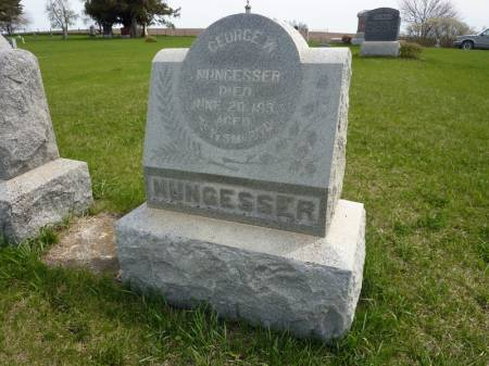 NUNGESSER, GEORGE W - Adair County, Iowa | GEORGE W NUNGESSER