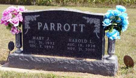 PARROTT, MARY J. - Adair County, Iowa | MARY J. PARROTT