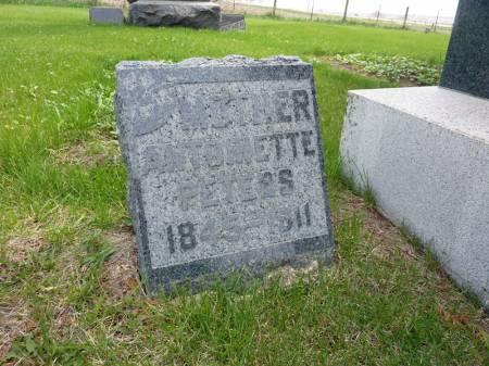 PETERS, ANTOINETTE - Adair County, Iowa | ANTOINETTE PETERS