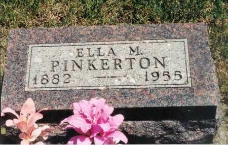PINKERTON, ELLA M. - Adair County, Iowa | ELLA M. PINKERTON