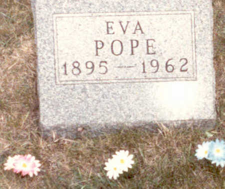 POPE, EVA - Adair County, Iowa | EVA POPE