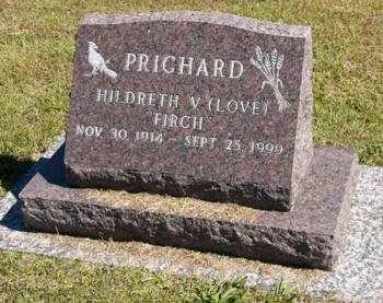 LOVE PRICHARD, HILDRETH V. - Adair County, Iowa   HILDRETH V. LOVE PRICHARD