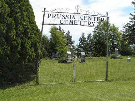 PRUSSIA CENTER, CEMETERY - Adair County, Iowa | CEMETERY PRUSSIA CENTER