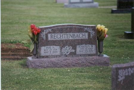 RECHTENBACH, IVA NANCY - Adair County, Iowa | IVA NANCY RECHTENBACH